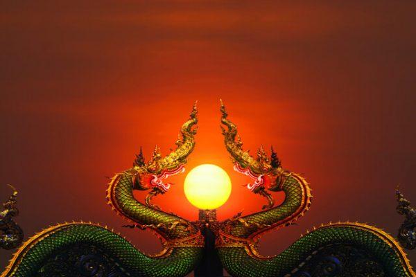 Misterios de la naturaleza las increíbles bolas de fuego de naga que aparecen entre Tailandia y Laos
