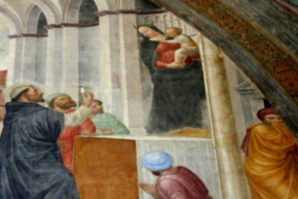 Cuando el demonio se disfrazó de la Virgen María